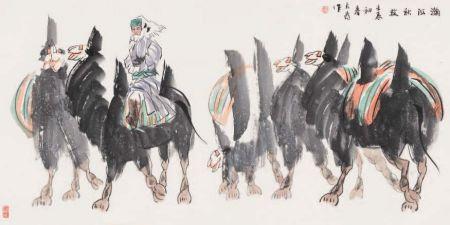 10著名画家刘大为绘