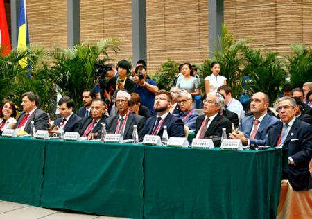 丝绸之路工商领导人(西安)峰会国际国内反响热烈