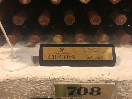 64平方公里CRICOVA葡萄酒酒窖中708号美国前国务卿John Kenrry私人藏品 图源 艾伦